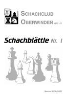 Schachblättle 2016/2017 Nr. 1